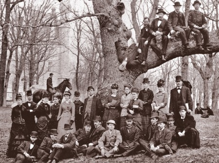 old oak student gathering 1880
