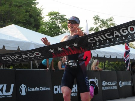jacquie godbe 2018 chicago triathlon